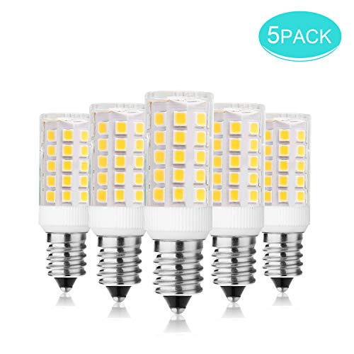 5er Pack E14 LED Lampe Warmweiss 3000K, SS SHOVAN 4W LED Glühbirne, Kein Flackern, Ersatz 40W Halogenlampen, AC / 220V-240V, 420LM, 360 ° Abstrahlwinkel [Energieklasse A ]