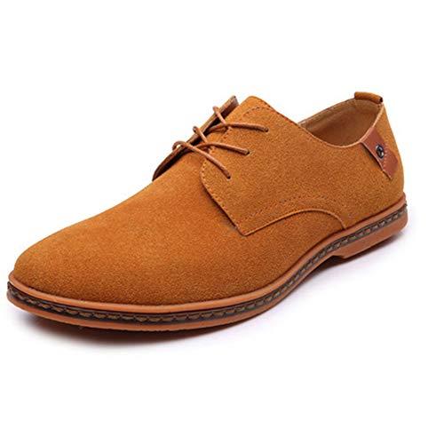 Herren Mode Freizeitschuhe Wildleder Oxford Leder Flache Schuhe Größe Kleid Schuhe - Polo-kleid-schuhe