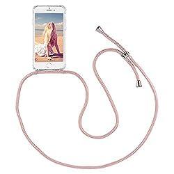 Imikoko Handykette Hülle für iPhone 6/6S Necklace Hülle mit Kordel zum Umhängen Silikon Handy Schutzhülle mit Band - Schnur mit Case zum umhängen