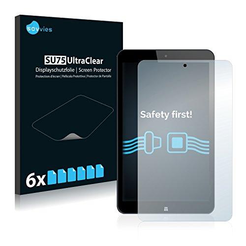 Savvies Schutzfolie kompatibel mit Allview WI8G [6er Pack] - klarer Bildschirmschutz