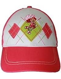 charlotte aux fraises-casquette-rose-fille
