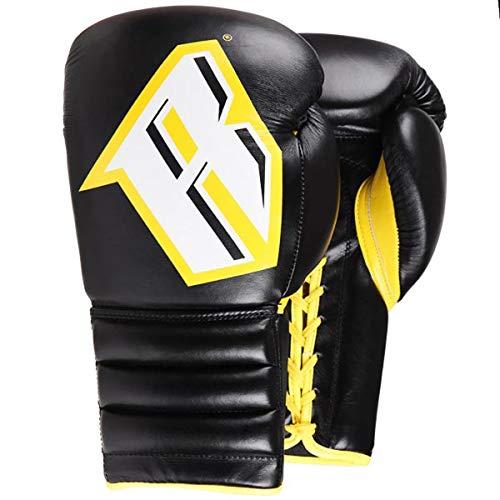Revgear S4Boxhandschuhe Professional Boxing Sparring Handschuh Sting schwarz gelb von minotaurfightstore, 397 g