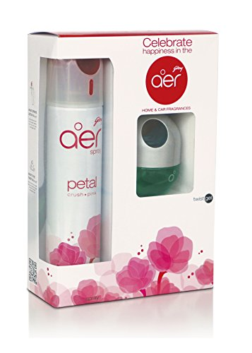 godrej aer combo of petal crush pink room spray and cool surf blue twist car air freshener (300 ml+45 gm) Godrej aer Combo of Petal Crush Pink Room Spray and Cool Surf Blue Twist Car Air Freshener (300 ml+45 gm) 41gIy2vUY3L