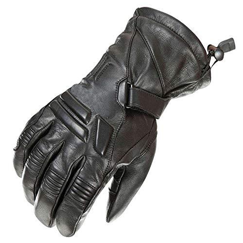 newfacelook Schwerlast Herren Leder Motorrad Handschuhe Wasserdichte Motorrad Sport