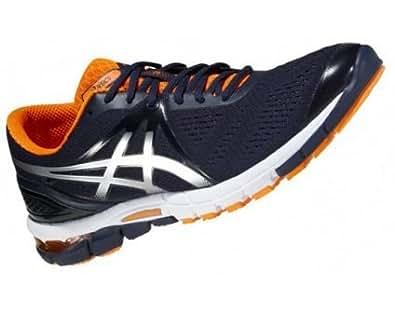 Asics - Chaussures d'athlétisme - Asics Gel Excel 33 3 Marine / Orange - EU 46 - US 11.5 - UK 10.5