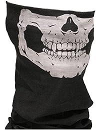 Tedd Haze Skull Face Bandana Tube