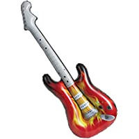 Unique Party 90656 – Guitarra eléctrica inflable Rock Star de 38 pulgadas
