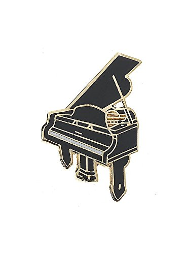 Mini Pin: Grand Piano (Black). Für Gitarre (Mini Grand Piano)
