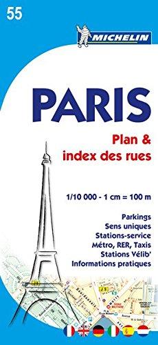 Plano Paris Plan Plus Pratique (Planos Michelin) por Vv.Aa.