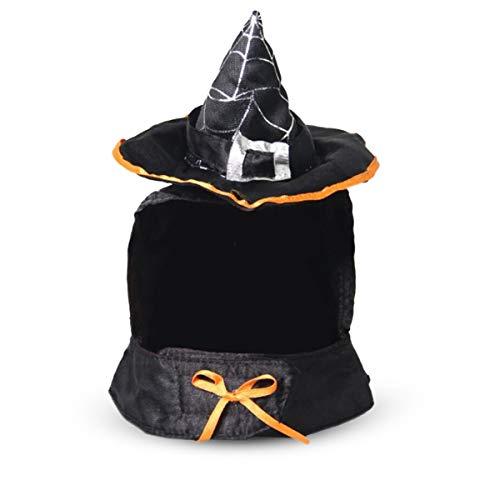 PETCUTE Halloween-Kostüm für Katzen und Hunde, Phantasie Haustier Verkleiden Sich Kostüme, Halloween Festival Zubehör,Katze Umhang