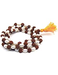 Rudra Divine Natural Rudraksha   Pearl Mala 7 mm Beads - 108+1 Beads Japa ff960315f8
