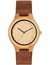 MAM Originals · Boreas Bamboo | Relojes de mujer | Diseño minimalista | Relojes de madera de bambú sostenible | Alta calidad a buen precio