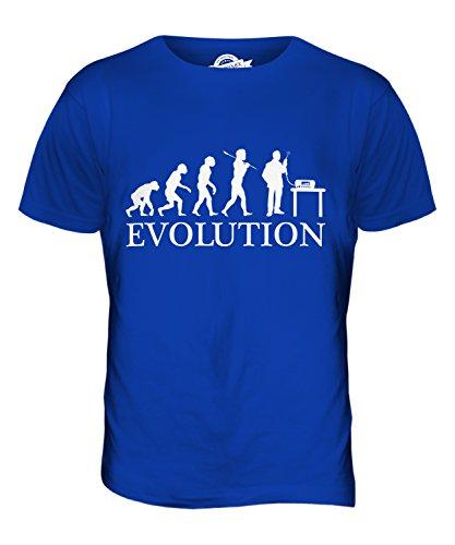 CandyMix Cb Funk Evolution Des Menschen Herren T Shirt Königsblau