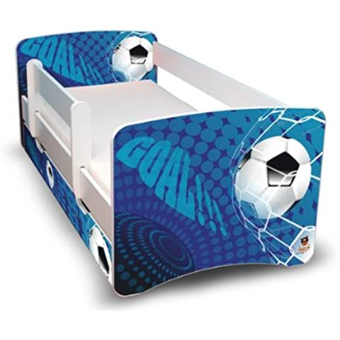 Best For Kids 44 Designs - Cama infantil (80x 160cm), con protección anticaídas y cajón