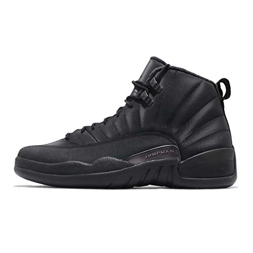 Nike Herren Air Jordan 12 Retro Wntr Fitnessschuhe, Schwarz Black/Anthracite 001, 42.5 EU - Retro Jordan Herren-schuhe