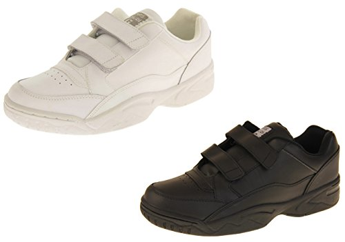 Footwear Studio Gaudi lynton Cuir Velcro Baskets de Sport Casual Hommes