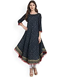 Amayra Women's Cotton Anarkali Kurti