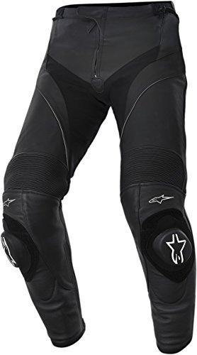 Preisvergleich Produktbild Motorrad-Hose aus vollnarbigem Leder CE-zertifiziert Alpinestars Missile Men / USA 40 / EU 56 Tall schwarz