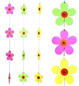 Sonnenfänger Girlande Sonnenscheibe Lichtfänger Blume verschiedene Farben