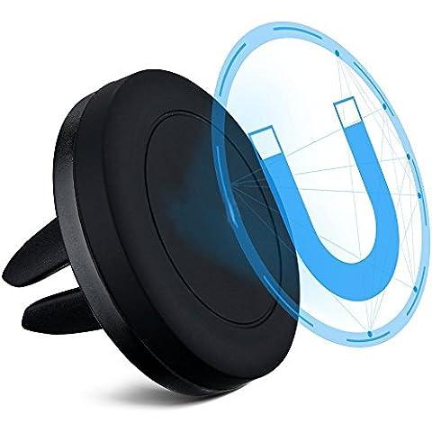 HICTOP montaggio per auto Grip magia del telefono mobile Cradle Magnetic Air Vent supporto del supporto del telefono universale del supporto dell'automobile per il iPhone 6/6 Plus / 5 Samsung S6 / S7 Nexus 7 Huawei P9