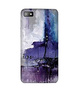 Midnight Paint Blackberry Z10 Case
