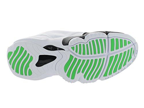 Nike Men'Field Parka 550 s Hooded Jacket White/Black/Poison Green