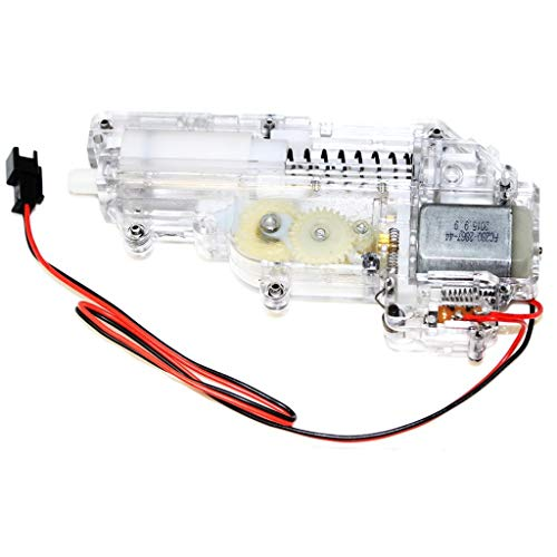Airsoft Softair CYMA Transparent Mini Full Getriebe Gearbox mit Motor für Uzi Serie AEG
