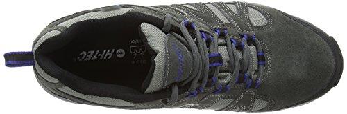 Hi-Tec - Alto Ii Wp, Scarpe Da Escursionismo da uomo Grigio (Charcoal/Cobalt 053)