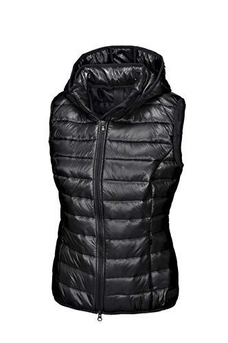 Pikeur Damen Steppweste IVA New Generation Herbst-Winter 2019/2020, Black, 40