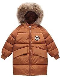 49ce6d0d7ab6 HUIHUI Kinder Baby Kleidung, Herbst Winter Warme Outwear Mantel Winddicht  Jacken Mädchen Jungen Solid Hooded