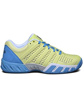 K-Swiss Jr Bigshot Light 2.5 - Zapatillas para niños, color lima / azul, talla 38
