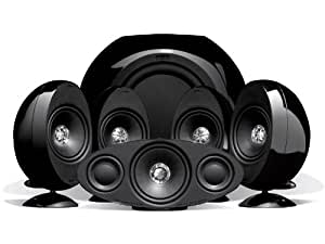 KEF KHT3005SE 5.1-Lautsprechersystem hochglanz schwarz