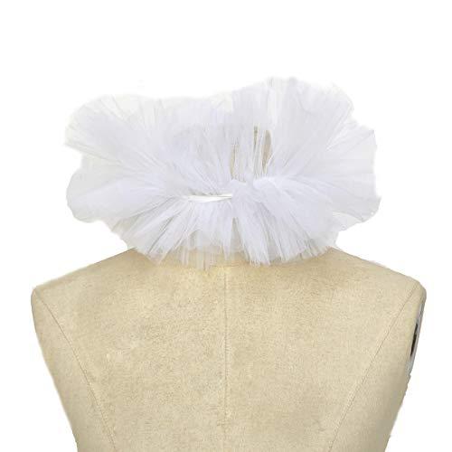 dream cosplay Viktorianischer Rüschen Kragen Renaissance Kostüm - Weiße Kragen Kostüm