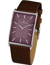 Jacques Lemans Damen-Armbanduhr XS York Analog Quarz Leder 1-1604G