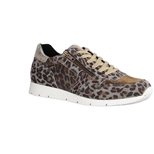 Tamaris 1-23636-35-960 Damasco, Sneaker donna Beige beige Marrone (Braun Kombi)