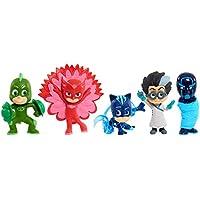 PJ Masks - Pack De 5 Figuras  Súper Poder, (24688)