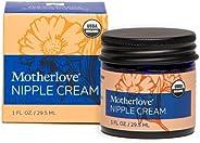 Motherlove 10011 Nipple Cream Certified Organic Salve For Sore Cracked Nursing Nipples