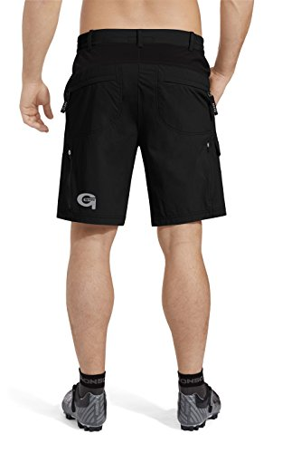 GONSO Herren Bike Shorts Arico V2, Black, L, 15006 -