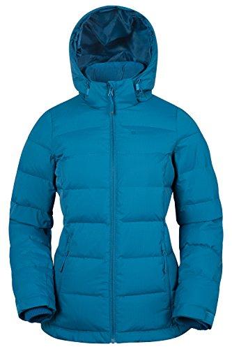 Mountain Warehouse Giacca in piumino Donna Frosty Verde-blu scuro 44