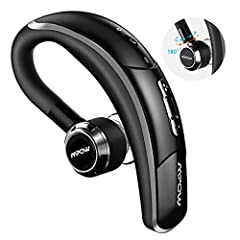 Idea Regalo - Mpow Auricolare Bluetooth Auricolare Bluetooth 4.1 con CVC 6.0 Microfono, CSR Chip e Catturare Voce Chiara, 4 Tasti, Cuffia Bluetooth Senza Fili Regolabile 180°
