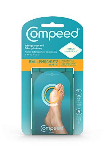 Compeed Ballenschutz Pflaster - lindert Schmerzen am Fußballen sofort, bietet Ballenschutz und effektive Polsterung