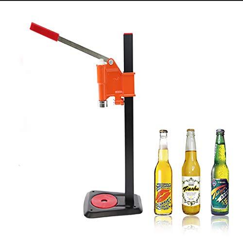 Ochoos Flaschenverschlussmaschine Manuelle Bierdeckel Versiegelungsdeckel Bierdeckel Softgetränk Deckelmaschine Soda Wasserkapsel 1 Stück