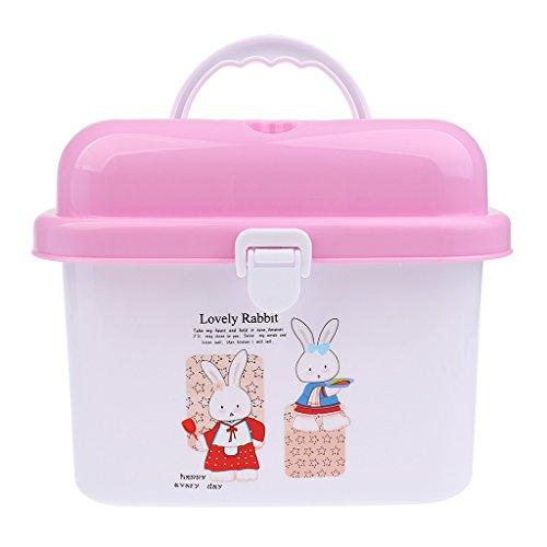 Sharplace Babyflaschen Box Trockengestelle mit Anti Staubschutz Saugflaschen Aufbewahrungsbehälter
