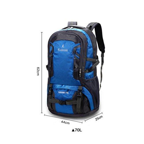 HWLXBB Outdoor Bergsteigen Tasche Man And Lady Mehrzweck-Bergsteigen Tasche Wandern Camping Bergsteigen Rucksack 5*