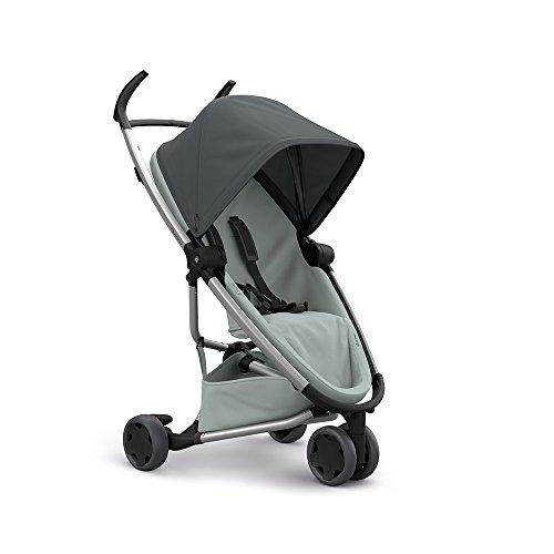 Quinny Zapp Flex Passeggino per Bambini Fronte Retro, Reversibile Reclinabile, 3 Ruote, Graphite on Grey
