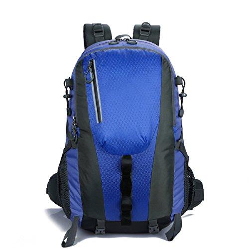 Die Neuen Bergsteigen Männer Und Frauen Taschen Outdoor-Sporttasche Blue