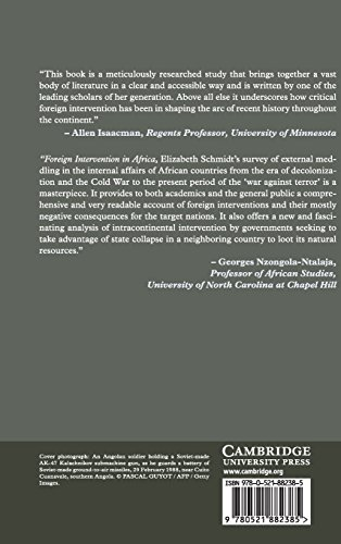 Foreign Intervention in Africa (New Approaches to African History)