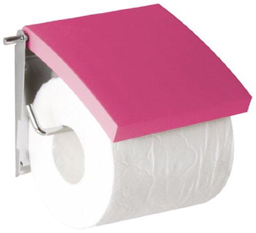 GELCO Design Infinity 704921 Toilettenpapierhalter, Mattrot