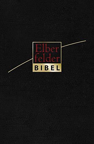 Elberfelder Bibel - Taschenausgabe, Leder Goldschnitt