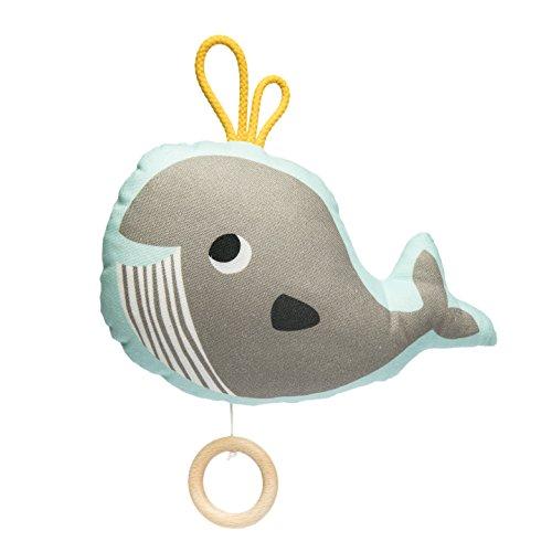 (Julica Design Spieluhr Baby | Wal | Musik zum Einschlafen für Babys | Junge & Mädchen | Schöne Melodie | Geschenk zu Weihnachten, Taufe, Geburtstag)